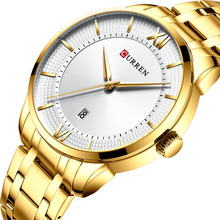 CURREN Brand Men Watch Luxury Full Steel Men Wrist Watch Fashion Date Army Military Quartz Watches Clock Male Relogio Masculino цена и фото