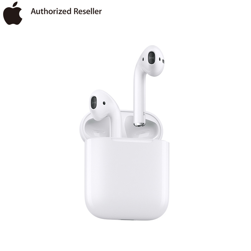 Brand New Genuine <font><b>Apple</b></font> <font><b>AirPods</b></font> Wireless Earphone Original Bluetooth Headphones for iPhone Xs Max XR 7 8 MacBook <font><b>Apple</b></font> Watch image