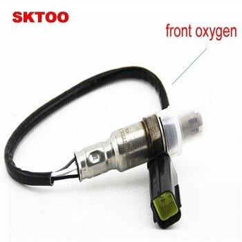 SKTOO 2PCS For 2008 2010 models Chevrolet Captiva 2.4L oxygen sensor front oxygen 96418971 rear oxygen 96415640