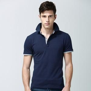 Image 4 - Men Polo Shirt Summer Deer Print Short Sleeve Polos Fashion Streetwear Plus Size Tops Men Cotton Sports Casual Golf Shirts