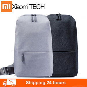 Classic Xiaomi mi backpack urban casual chest bag lightweight men and women small shoulder type unisex rucksack backpack bag