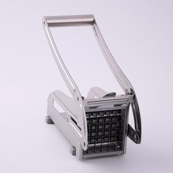 Stainless Steel Household Potato Cutters French Fries Cutting Machine French Fry Vegetable Cutter Dicer Machine potato chips making machine stainless steel french fry potato cutter french fries cutter manual cutting machine kitchen gadgets