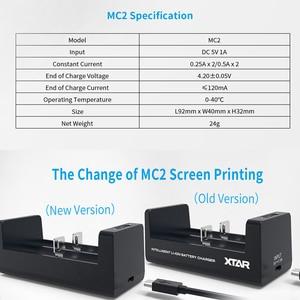 Image 5 - Xtar充電器液晶xtar VC2 SC2 VC2S MC2プラスusbバッテリー充電器20700 21700 18700 22650 25500 26650 18650バッテリー