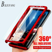 360 Degree protection Case For Samsung Galaxy J4 J6 A6 A8 Pl
