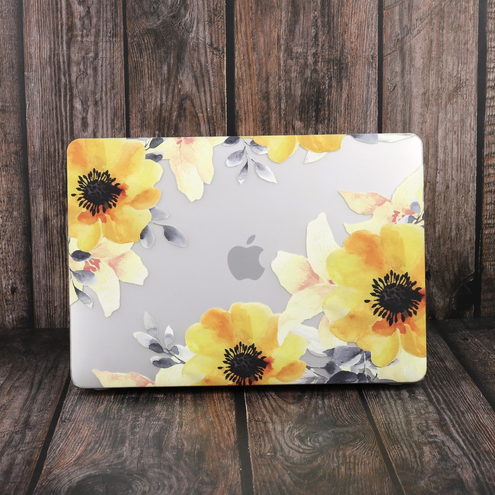 Marble Flower Bling Case for MacBook 94