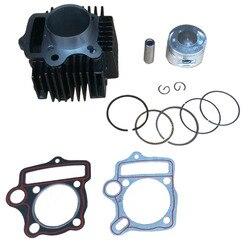 125cc Zylinder Kit 54mm Bohrung Kolben kit für C125 Horizontale Motor ATV Pit bike motorrad wiederaufbau teile