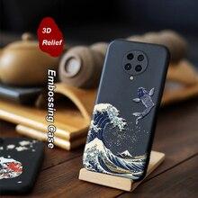 Xiaomi redmi K30超K20プロK20 mi 9tポコX2 F2ケース3D救済エンボスマットソフトカバーlicoers公式ケースfundaシェル