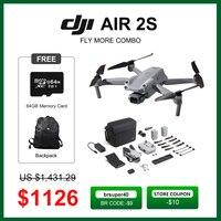 DJI Luft 2S drone/Air 2S Fliegen Mehr Combo mit 1-zoll CMOS Sensor große 2.4μm pixel 20MP Kamera 12km 5,4 K Video Marke neue auf lager