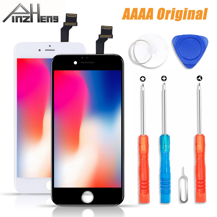 PINZHENG 100% AAAA <font><b>Original</b></font> LCD Screen Für <font><b>iPhone</b></font> 6 <font><b>6s</b></font> Plus Bildschirm LCD <font><b>Display</b></font> Digitizer Touch Modul Bildschirme Ersatz LCDS image