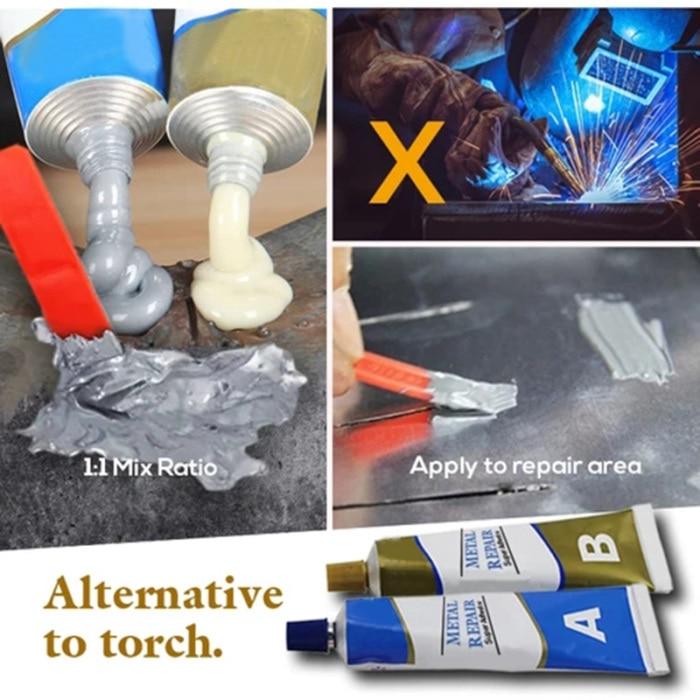 Permanent Metal Repair Paste