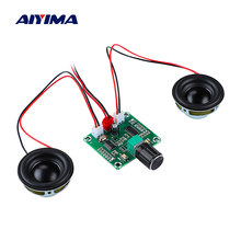 AIYIMA PAM8403 Bluetooth 5.0 Power Amplifier Audio Board 5Wx2 Hifi Stereo Mini Amp DIY Audio Portable Bluetooth Speaker