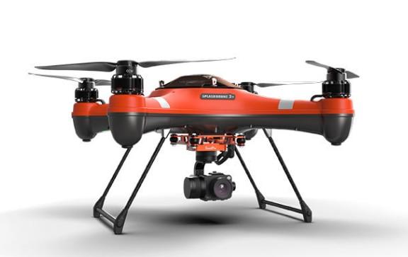 سويلبرو سبلاش الطائرة بدون طيار 3 مقاوم للماء مع رصد صياد كوادكوبتر RTF مع PL2 أو PL3 1