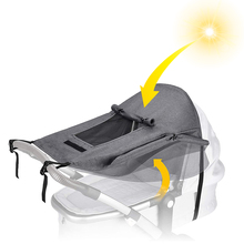 Carriage Baby Stroller Sunscreen-Pushchairs Prams Sunshade Awning Sun-Canopy Uv-Protection