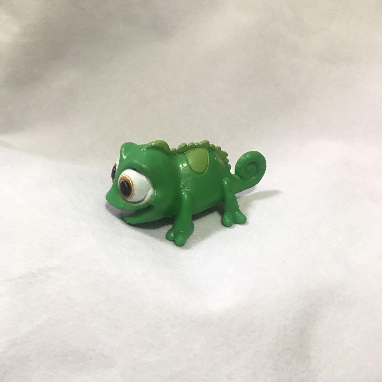 Rapunzel Princess Pet Lizard Pascal Animal Figure Toy Model Doll Kids Birthday Gift