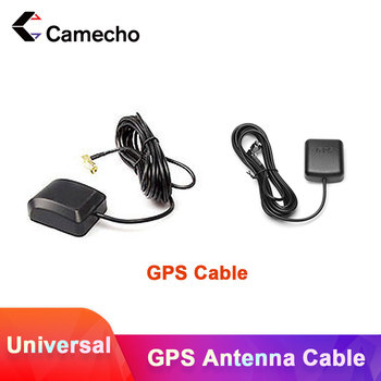Camecho Car Android Radio 1.8m GPS Antenna Cable For 2din Car Radio Cable Universal For Volkswagen VW Skoda Car Accessories Wire image