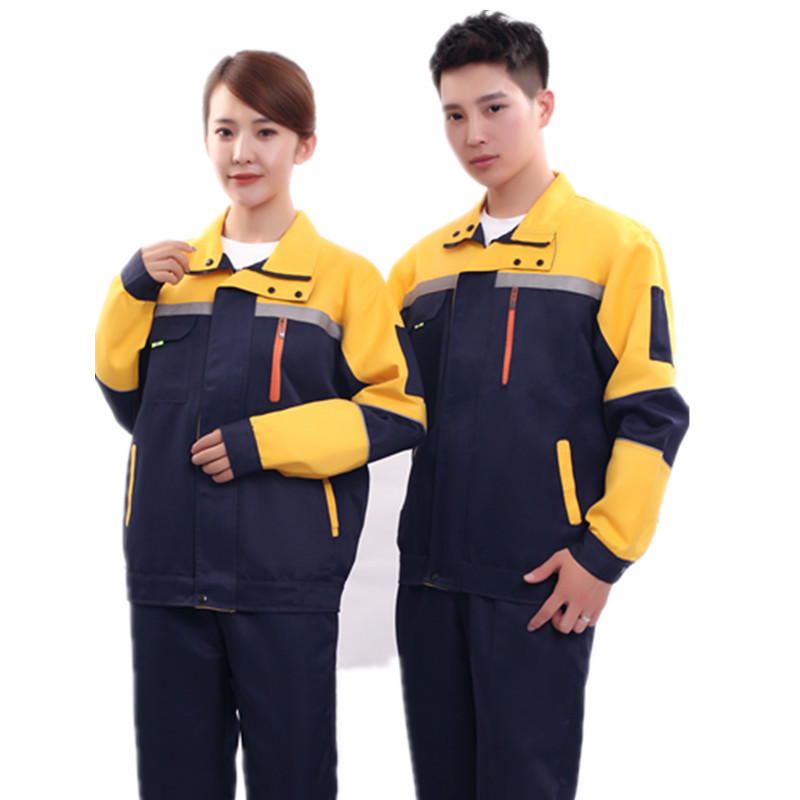 Worker Clothing Workwear Clothes Set Men Women Workmen Factory Uniform Wear-resistant Repairman Auto Car Workshop Engineer Suits