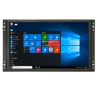 1920x1080 11.6 Inch IPS LCD Display VGA HDMI Metal Shell Industrial Open Frame Touch Screen Monitor