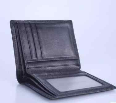 Новый Классический Мужской карт-Холдер, кошелек из овечьей кожи, держатель для кредитных карт, вязаный кошелек для монет