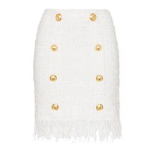 Skirt Buttons Fringed QUALITY