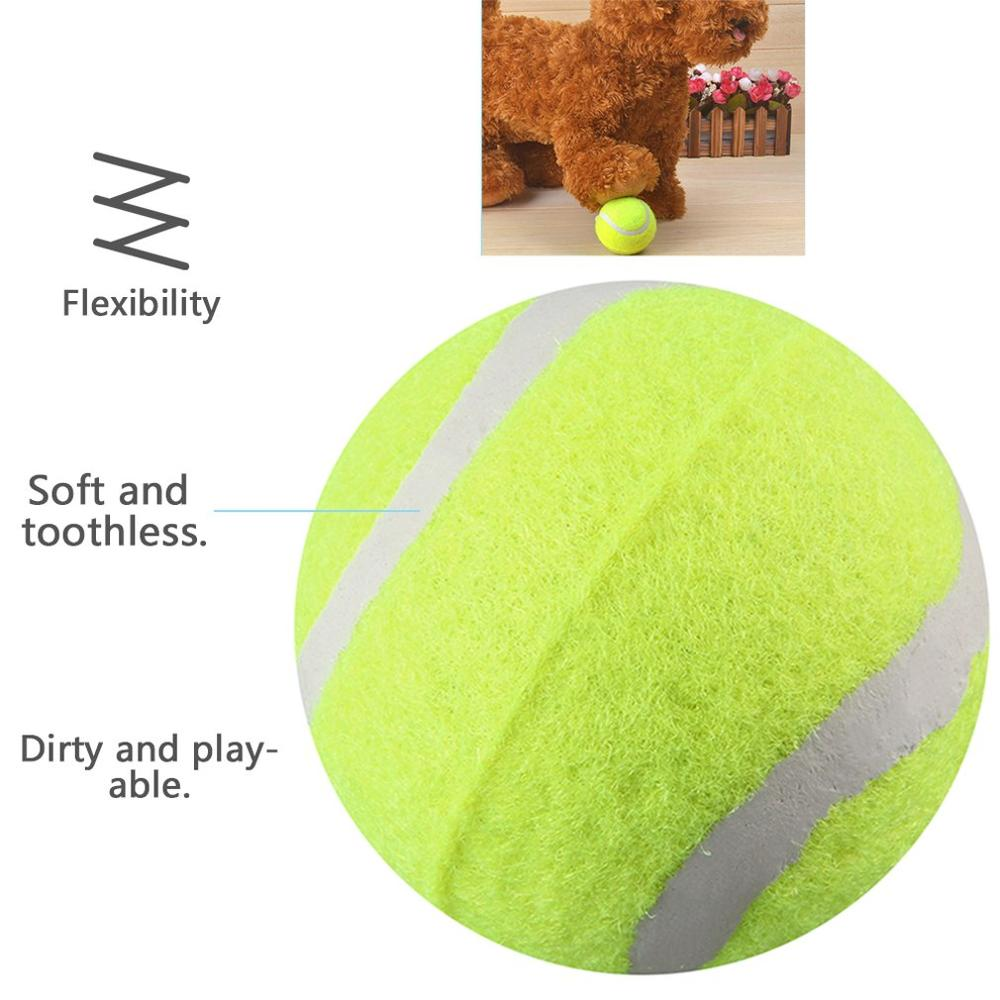 6.5cm Diameter Dog Tennis Ball Giant For Pet Chew Toy Inflatable Outdoor Tennis Ball Signature Mega Jumbo Pet Toy Train Ball
