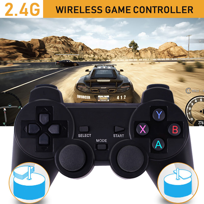 Cewaal хит 2,4G беспроводной геймпад пк для PS3 tv Box джойстик 2,4G джойстик игровой контроллер пульт дистанционного управления для Xiaomi Android беспилотный самолет