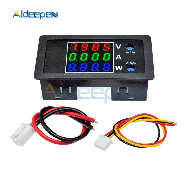 """0.28"""" LED Digital Voltmeter Ammeter Car Motocycle Voltage Current Meter Volt Detector Tester Monitor Panel Red Green Blue 10A"""