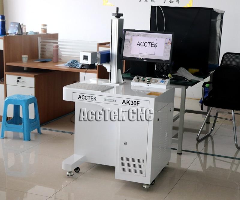 Rotary Axis Cnc Laser Marking Machine,desktop Laser Graver Metal 50w 30w For Ring Marking