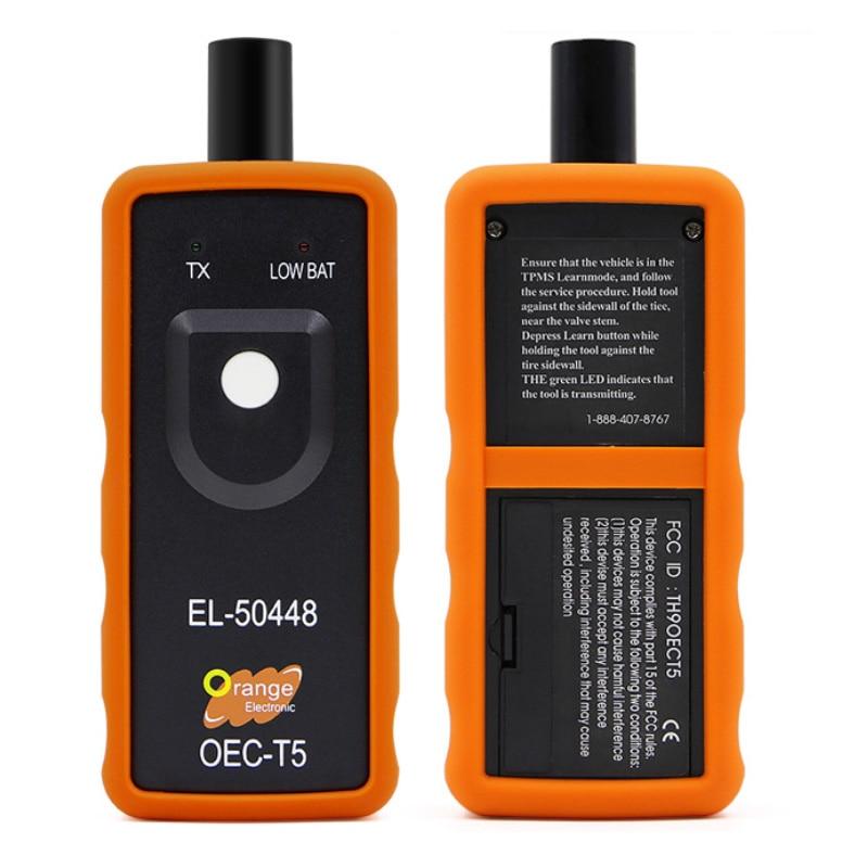 EL-50448 Tire Pressure Monitor Sensor Re-Learn Reset Tool EL50448 TPMS Activation Tool OEC-T5 For Gm/Opel