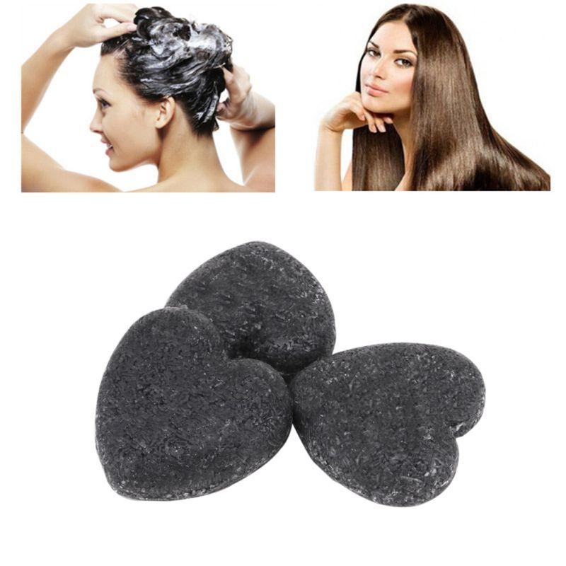 Hair Washing Care Clean Dandruff Soap Tool Heart Shape Hair Shampoo Soap Non-Silicon Oil Control Salon New.w