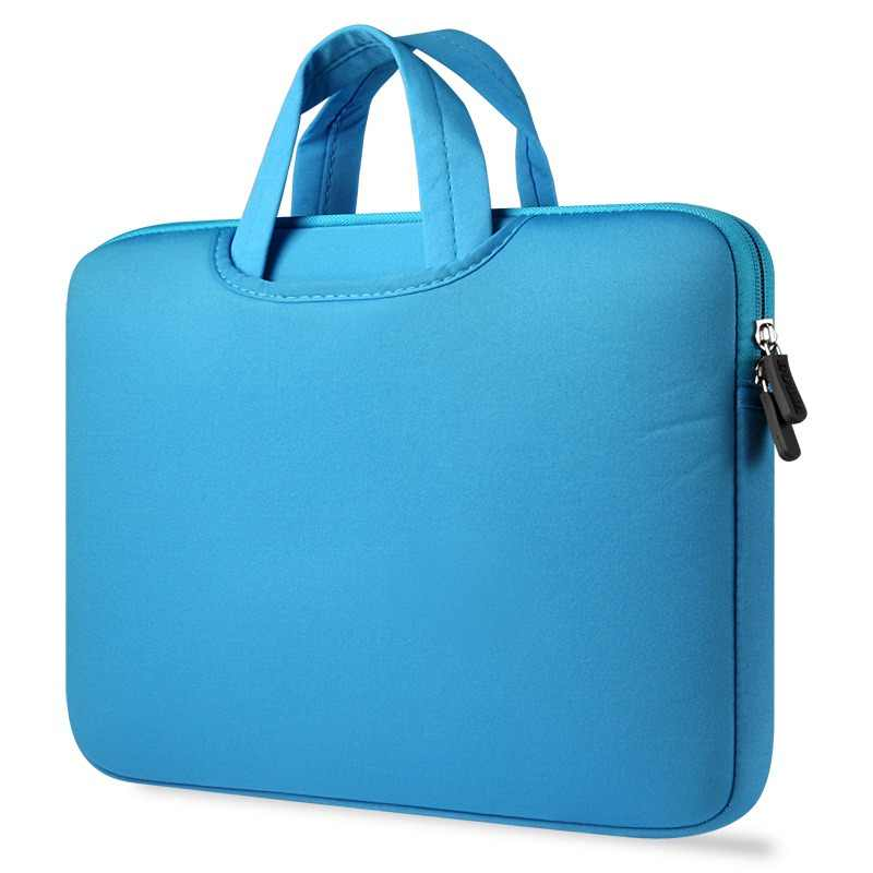 Mężczyźni kobiety prosta torba biznes wodoodporny Nylon torebki komputerowe przenośny zamek torba na Laptop mężczyzna torby na Laptop
