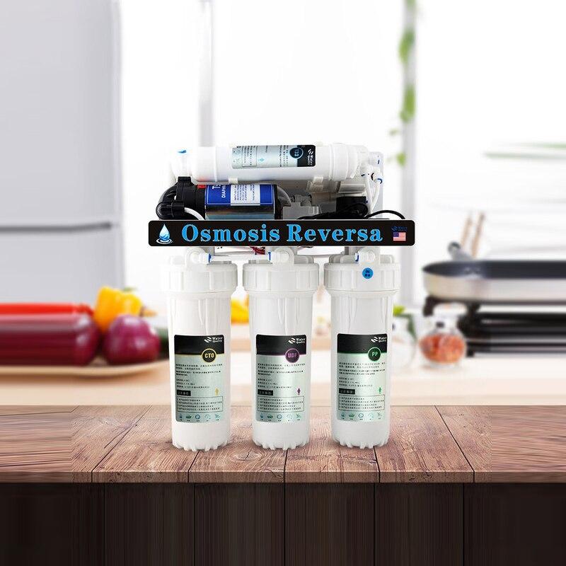 36 w casa ro purificador de água osmose reversa plug-in máquina de água pura para escalar purificador de água potável direto 5 filtro