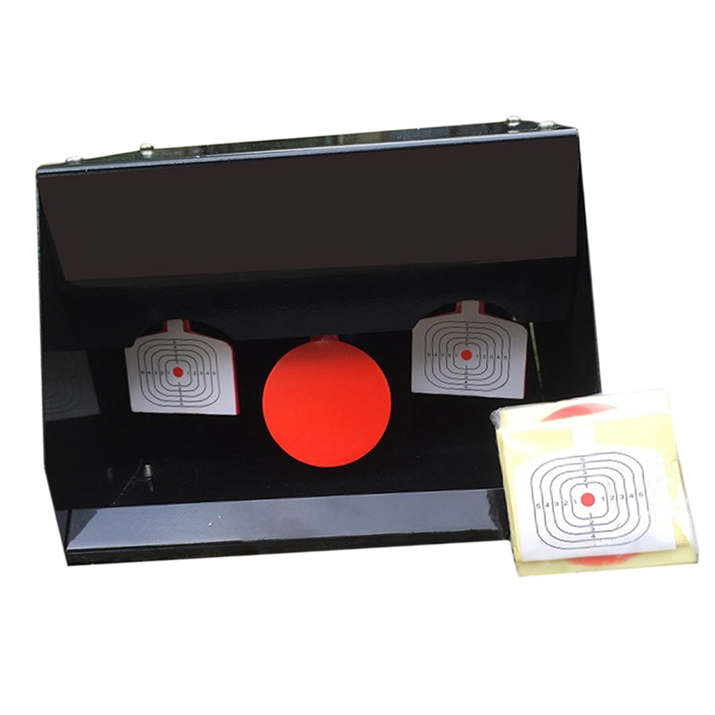 Self Resetting Shooting Target Container Auto-Reset Shooting Training Goal