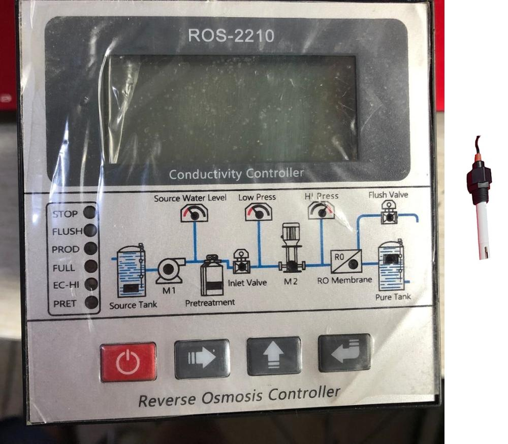 New RO Controller / ROS-2210 Reverse Osmosis Controller Replaces ROC-2313 CCT-7320 Conductivity