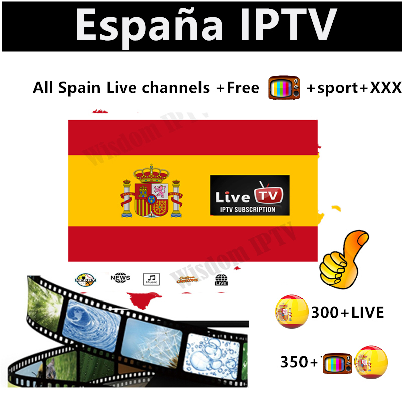 Spain M3u Subscription Spanish IPTV Premium Subscription Full HD Spain 300+ Local Live IPTV Espain Europe M3u Smart Tv Free Test