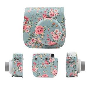Image 2 - กล้องป้องกันกรณีที่มีสีสันรูปแบบกระเป๋ากล้องหนังสำหรับFujifilm Instax Polaroid Mini 8/ Mini8 +/ 9กระเป๋าถือ