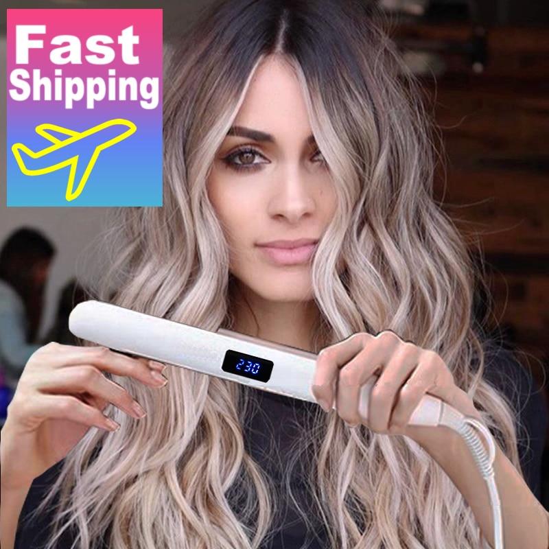 Выпрямитель для волос 2020, керамический утюжок для выпрямления волос, гофрированные щипцы для завивки, инструменты для укладки волос|Щипцы для завивки|   | АлиЭкспресс - Hair Tools