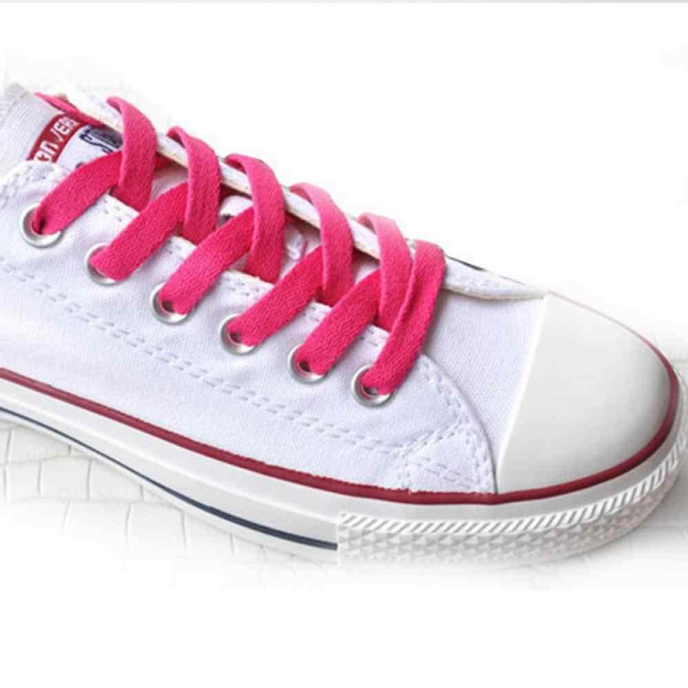 29 tipi Di Colore Colorato Lacci delle scarpe della Scarpa Da Tennis Lacci Delle Scarpe Piatte scarpe Da Trekking Scarpa Strings Colorato Lacci delle scarpe per Scarpe Da Ginnastica 1 coppia