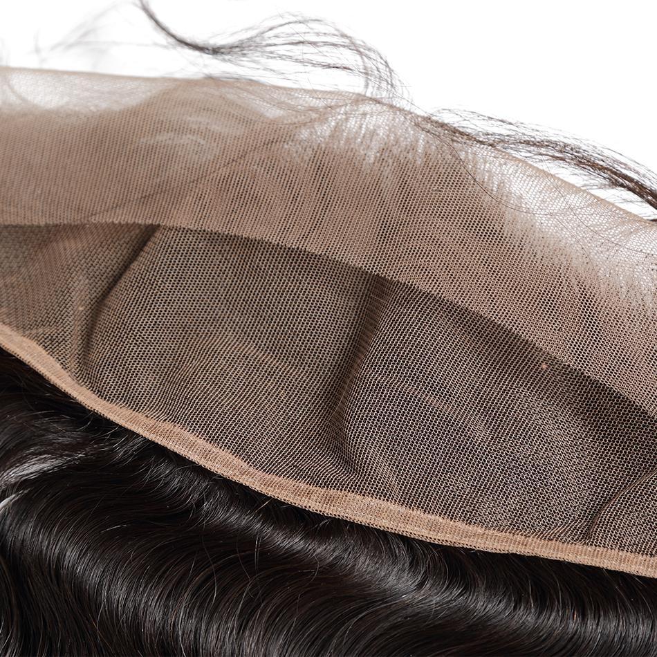 Poker yüz vücut dalga 8-28 30 40 inç brezilyalı saç örgü 3 4 paketler dantel Frontal kapatma ile olmayan Remy İnsan saç uzatma