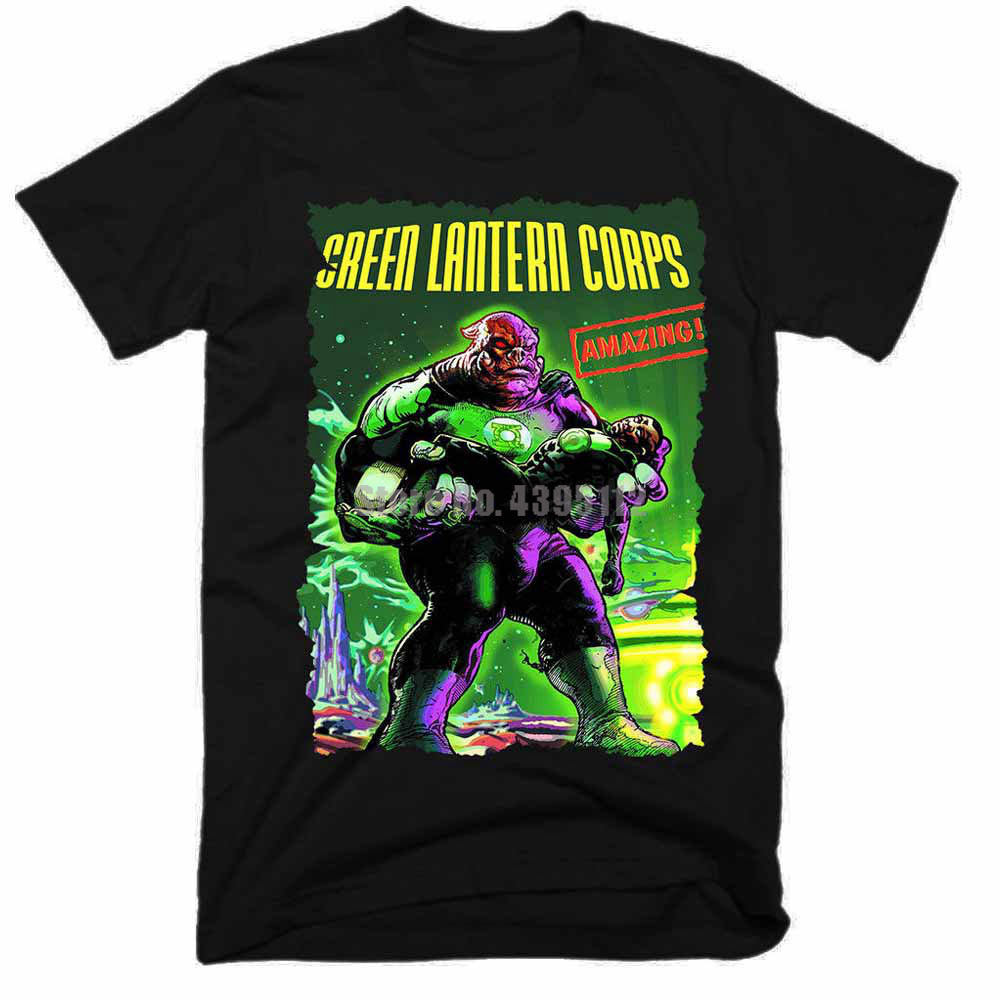 <font><b>Green</b></font> Lantern Corps Movie <font><b>Women</b></font> <font><b>Tshirt</b></font> Hip Hop Harajuku T Shirt <font><b>Sexy</b></font> Girl Tee Shirt Black And White T-Shirt Tops For WoWomen image