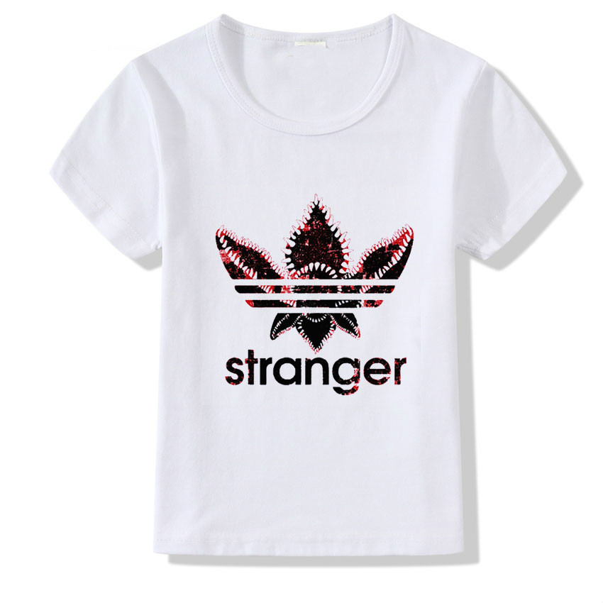 Stranger Things T Shirt Kid Short Sleeve Summer Tops For Girl Boy Casual O-neck Clothes Baby T-shirt Camiseta,bal032