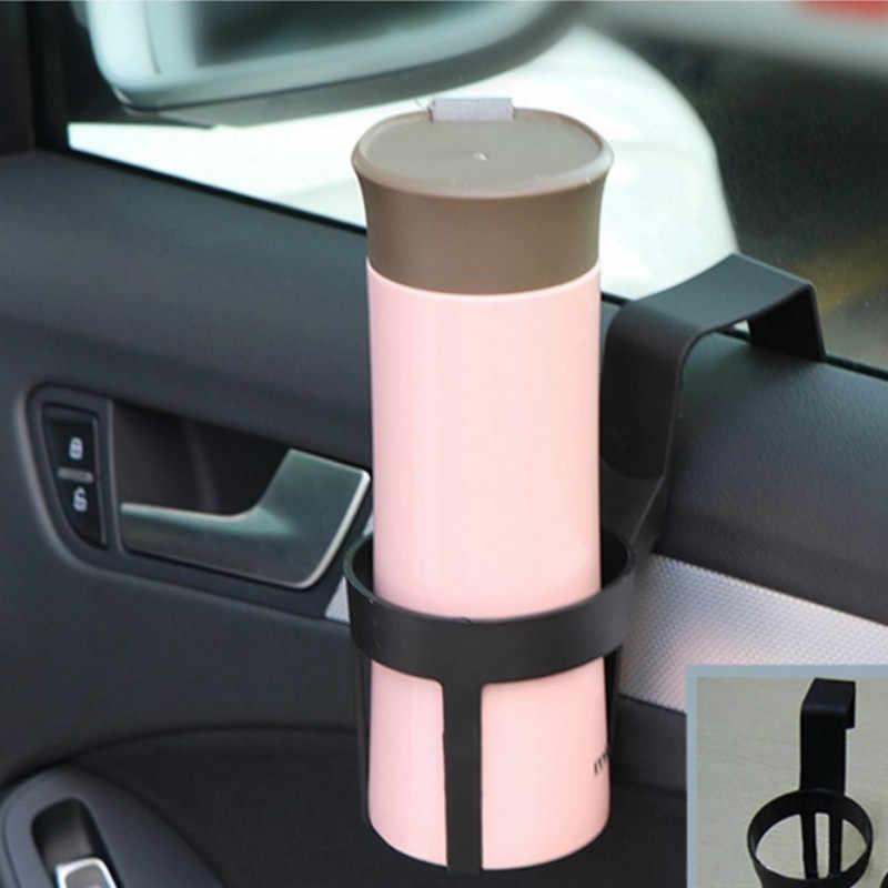 1 Uds. Soporte de bebida de plástico Universal en el coche botella de bebida puede soporte de la puerta soporte de la taza