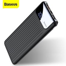 Baseus טעינה מהירה 3.0 10000mAh כוח בנק QC3.0 מהיר טעינת Powerbank נייד חיצוני סוללה מטען עבור Xiaomi Poverbank