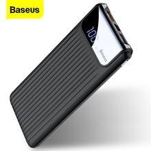 Baseus Carica Rapida 3.0 10000mAh Banca di Potere QC3.0 Veloce di Ricarica Powerbank Portatile Batteria Esterna del Caricatore Per Xiaomi Poverbank