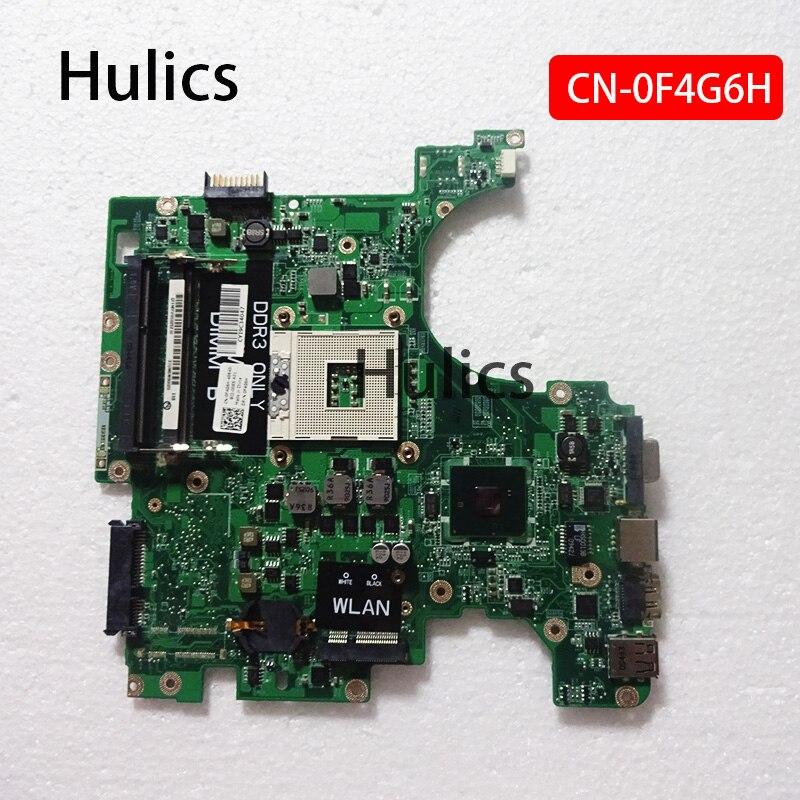 Hulics оригинальный F4G6H 0F4G6H для DELL Inspiron 1564 материнская плата S989 DAUM3BMB6E0 CN-0F4G6H HM55 Материнская плата ноутбука DDR3 основная плата