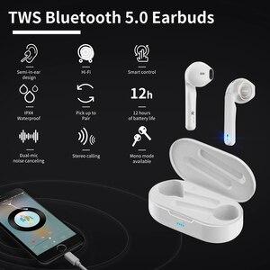 Image 3 - GOOJODOQ IPX7 עמיד למים Bluetooth 5.0 ספורט אוזניות אלחוטי אוזניות 140 שעות משך זמן HiFi קול רעש בידוד 3600 mAH