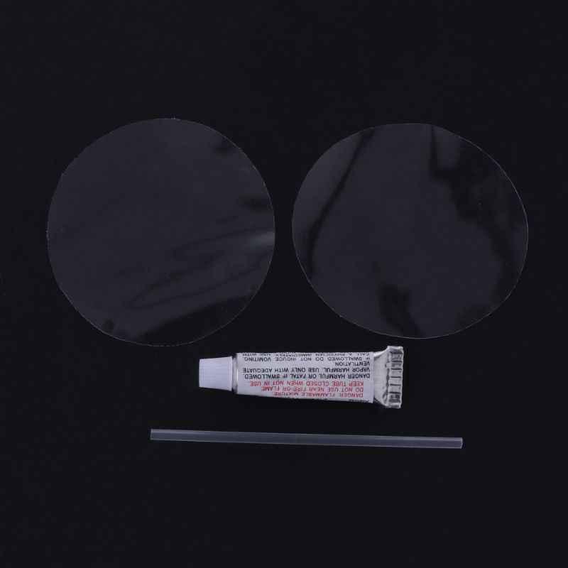 OOTDTY ビニール接着剤修理キットインフレータブルウォーターエアマットレス Pvc パッチ粘着プール修復キット