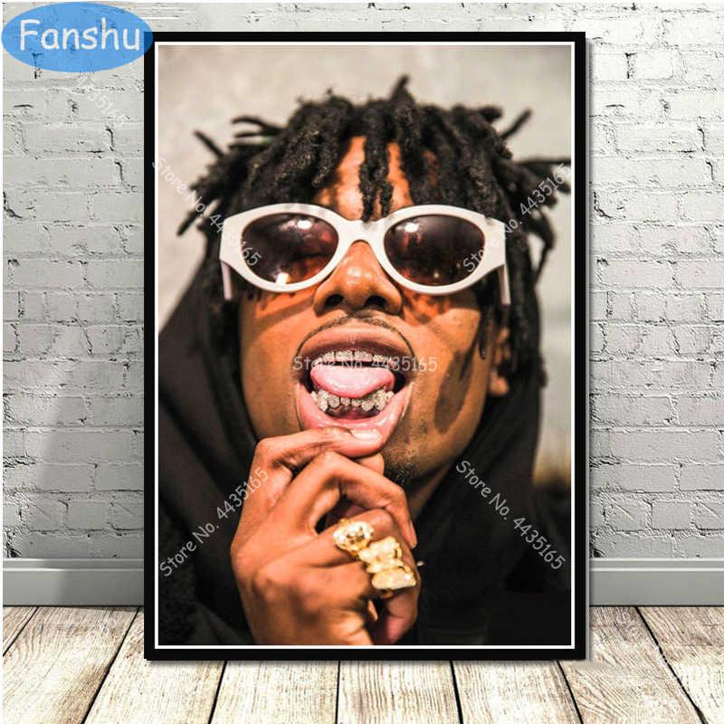Playboi Carti Smoking Music Hip Hop Rap Singer Star Art Hot FABRIC Poster N3639