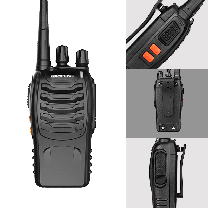 Baofeng 888s 5W Baofeng Walkie Talkie Mini Radio Portable Transceiver UHF 400-470 MHz Two Way Radio Pofung BF-888s