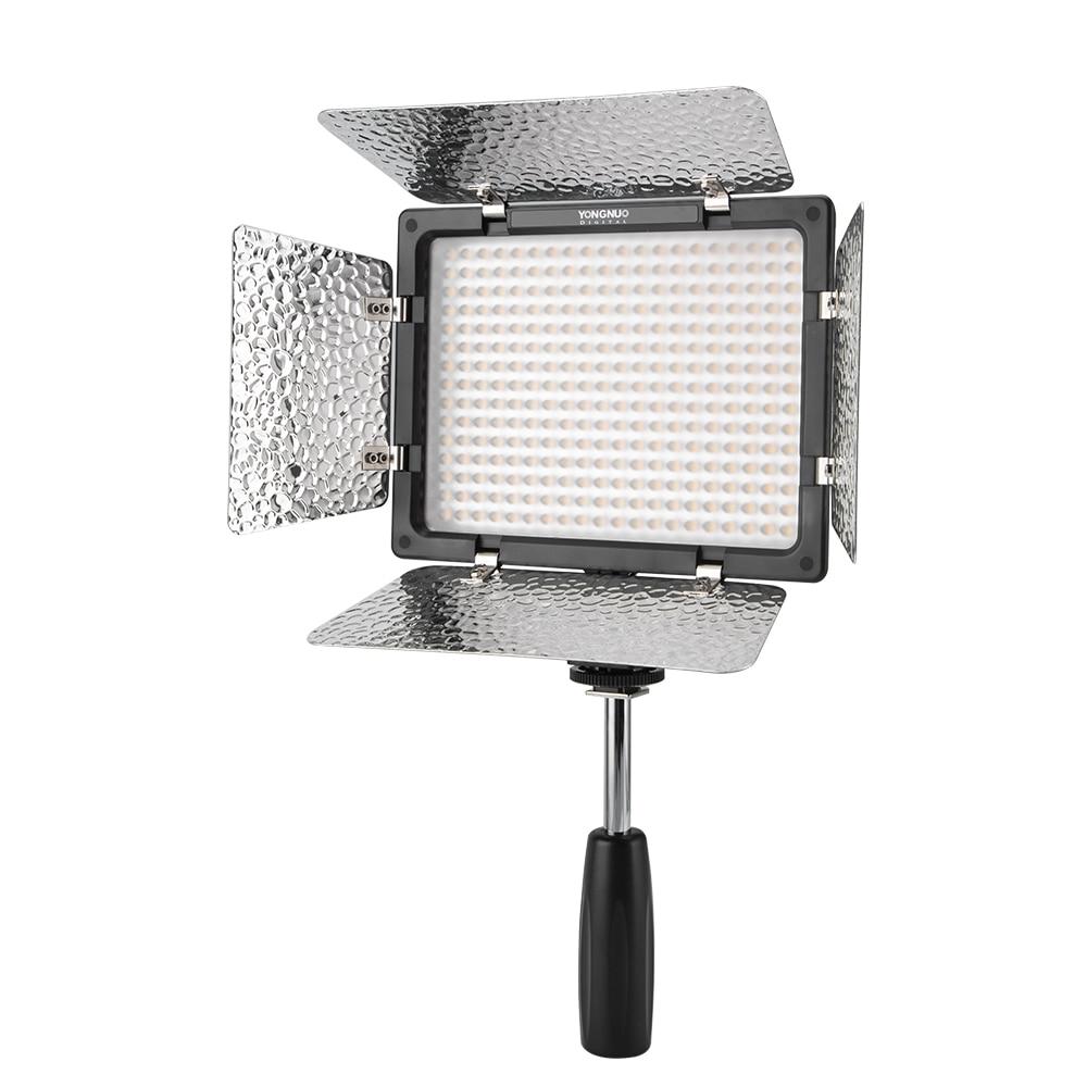 Yongnuo YN300 III YN300III 3200k 5500K CRI95 Camera Photo LED Video Light Optional with AC Power Yongnuo YN300 III YN300III 3200k-5500K CRI95 Camera Photo LED Video Light Optional with AC Power Adapter + NP770 Battery KIT