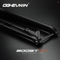 OG-EVKIN FK-007 15 29er Através Do Eixo x 110 milímetros De Carbono Bicicleta de Montanha Garfo 1-1/8